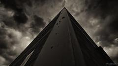 Architecture Zollverein (frankdorgathen) Tags: industry wideangle brick stone ruhrgebiet essen zollverein zeche outdoor cloud sky architecture building blackandwhite monochrome