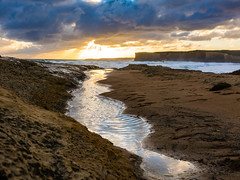 Chasing gold (Derek Midgley) Tags: insta dsc02414 loch ard gorge great ocean road sherbrooke river