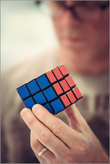 Solved (mikeyp2000) Tags: selfie selfportrait cuber rubik rubiks solution mathematics solutions cubist solved maths math cube