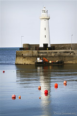 Donaghadee Lighthouse (dareangel_2000) Tags: dariacasement codown northernireland donaghadee lighthouse sun sea sand naval maritime pier harbour beach beacon buoy