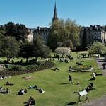 Saturday Afternoon in Bath: The Parade Gardens. thumbnail