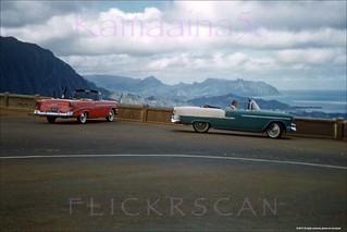 Pali Overlook Windward Side 1956