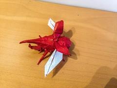 Hercules beetle (lorenzogiorgio1) Tags: origami art herculesbeetle beetle paper insect animal