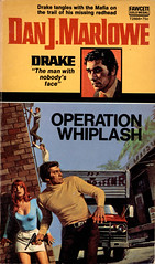 Gold Medal 2866 _ 1973 (uk vintage) Tags: twincover twincovers danjmarlowe drake detective goldmedal goldmedalbooks goldmedalbook