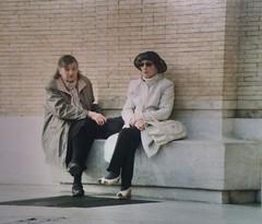 Due signore si raccontano, a Roma (camillamontesi) Tags: kodak analogue analog film 35mm canon talking portrait woman sanpietro vaticano roma