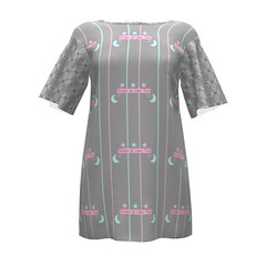 Flutter Tunic  #SAGE Dreams in Brocade Sprout Patterns (mom_de_bomb) Tags: sage surfaceartistsguildofexcellence fabricaddict sewing sew textiledesign sproutpatterns spoonflower thedailyseam sprout pdfpattern indiedesigners sewingpattern patterns isew fabric surfacedesign textiles