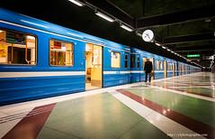 the traveler (ylemort) Tags: streetphotography streetphotographer street canon canon5dmkiv color city people subway underground travel traveler