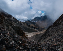 Pujant al refu (faltimiras) Tags: trekking real climb la paz peak bolivia summit cordillera cima huayna cim potosi ascencio
