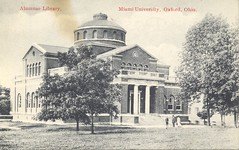 Alumnae Library (Miami U. Libraries - Digital Collections) Tags: libraries universitiescolleges miamidigitalcollections alumnialumnae bowdenpostcardcollection ohiooxford