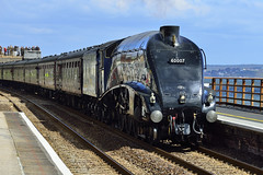 Gresley at Dawlish (Maskedmarble) Tags: train steam devon sir nigel infocus dawlish highquality gresley