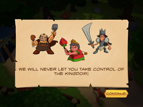 Royal Revolt! Story: screenshots, UI