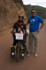 Freelancers - a well known one (SOMEN DEBNATH - Around the World on Bicycle Tour for HIV/AIDS) and another :)