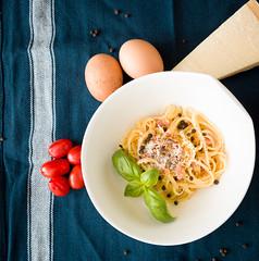 Spaghetti Carbonara (Dembo) Tags: food 35mm germany google essen flickr frankfurt motive 365 facebook hesse project365 ef24105mmf4lisusm 365project canoneos5dmarkiii