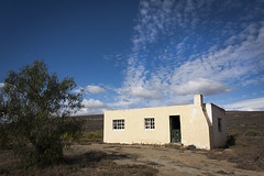 Karoo 28 (hassner) Tags: africa house clouds southafrica cottage cape karoo matroosbergstation