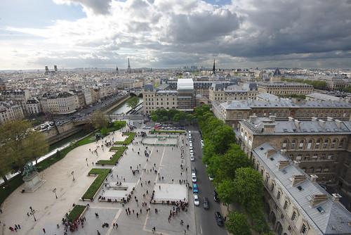Notre Dame Overlook