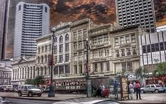 New Orleans La ~ Adlers Block ~ Historic Area ~ CBD (Onasill ~ Bill Badzo) Tags: street new sunset sky car st parish clouds la canal orleans louisiana district charles historic jewellery commercial area cbd adlers onasill