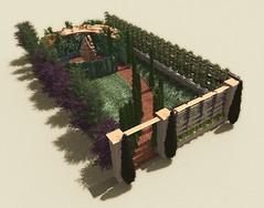 Leaf park. Axonometric view