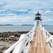 Just a Lighthouse, Maine, USA