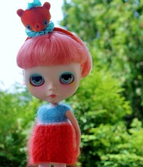 Dee Dee in her New Color Block Candy Darling Dress