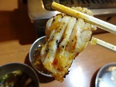 Beef Stomach! @Futago, Mita, Tokyo (Phreddie) Tags: trip friends food japan dinner fun happy restaurant tokyo yum beef bbq meat grill delicious korean biz mita offal yakiniku meatclub horumon futago 201405東京出張1