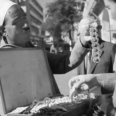 03_Port Said - Jewellery Vendor 1961 (usbpanasonic) Tags: canal redsea egypt portsaid mediterraneansea egypte  suez egyptians ismailia egyptiens jewelleryvendor