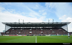 Millerntor Stadion  [FC Sankt Pauli- Erzgebirge Aue 10.05.2014] (Fototerra.cat) Tags: football nikon fussball stadium hamburg terraces stadion futbol stpauli ftbol millerntor fcstpauli tribuna sanktpauli nikond600 fcsp fototerracat