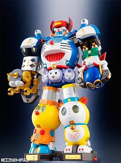 【映像解説影片更新】哆啦A夢也來合體!《藤子‧F‧不二雄 誕生80週年 × 超合金40週年》超合体SF機器人