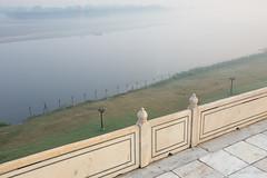 Yamuna River River_7869 (Ursula in Aus) Tags: morning india mist architecture unesco yamunariver uttarpradesh earthasia