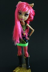 Monster High: Howleen Wolf (jaqio) Tags: monster toys high wolf doll wishes 13 matell howleen
