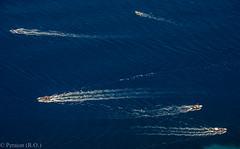 Criss-cross Navigation (Peraion) Tags: sea italy boats capri europe bayofnaples crisscross navigation
