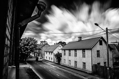 ... (Kaldar) Tags: street longexposure sky motion clouds estonia eesti tartu weldingglass