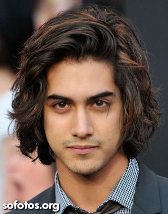 cabelo masculino comprido