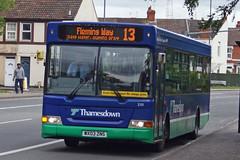 Thamesdown Transport - WX03 ZNS (peco59) Tags: pointer dennis dart psv pcv slf plaxton transbus thamesdown thamesdowntransport wx03zns