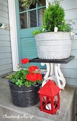 Planter-washtub_hometalk_com (DougBittinger) Tags: