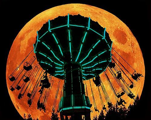 Full Moon at Wildwood