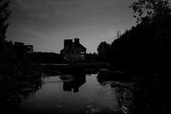 across.the.pond (jonathancastellino) Tags: leica trees sky toronto abstract reflection tree abandoned dark pond ruins decay m evergreen valley swamp restoration derelict donvalleybrickworks culturallandscape