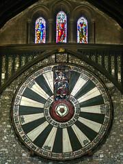 Winchester, Hampshire (Oxfordshire Churches) Tags: uk england unitedkingdom stainedglass hampshire panasonic winchester roundtable kingarthur tudorrose mft knightsoftheroundtable kingarthursroundtable johnward micro43 microfourthirds lumixgh3