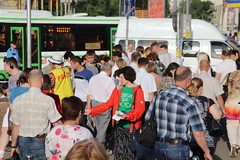 Victoria Negrimovskaya (bobmendo) Tags: streets metro mission yeshua outreach subways evangelism missionaries jewsforjesus streetevangelism moscow2014 moscowcampaign