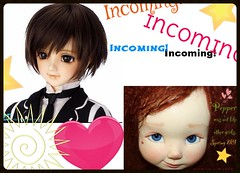 Incoming Dolls 2014! (DisneyRN(PKL)) Tags: beautiful cutie bjd volks girlie msd balljointeddoll artistdoll kujo sd13 gosick le50 pepperannie littlefairytalesbjds
