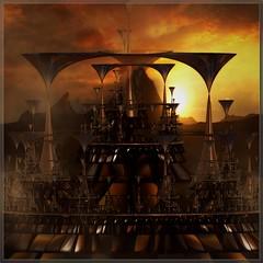 shrine of helios (bloorose-thanks 4 all the faves!!) Tags: art digital render fractal edit photofiltrestudio incendia