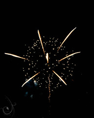 Ingham Co. Fireworks 2014 (LadyDragonflyCC - >;<) Tags: color canon spectacular fire fairgrounds colorful fireworks michigan mason explosion 4th july handheld 4thofjuly bang t3i 2014 inghamcounty