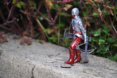 On the Edge (skipthefrogman) Tags: argentina vintage toy eyes cobra action snake joe chrome figure custom gi mortal plastirama
