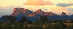 Warrumbungles at Sunset (Darren Schiller) Tags: sunset mountains landscape australia newsouthwales volcanic warrumbungles