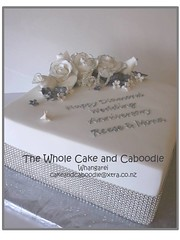 a little sparkle (The Whole Cake and Caboodle ( lisa )) Tags: wedding roses cakes cake silver anniversary diamond sparkle bling 60 60th weddinganniversary 60thweddinganniversary caboodle thewholecakeandcaboodle