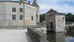 20140621-04 La Brède » Le château (XII-XV), demeure de Montesquieu (1689-1755) (bergeje) Tags: labrède