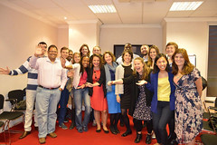 The people who attended the workshop 'How to become a digital leader' with Sofie Sandell and JCI London