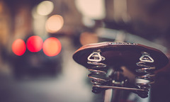 Brooks (Jamie Frith) Tags: italy rome bicycle vintage 50mm nikon bokeh retro brooks d800
