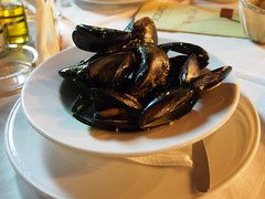 Mussels as a starter!