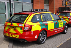 London Air Ambulance Advanced Trauma Team Skoda Octavia VRS Estate Rapid Response Vehicle - EK14 NXO (IOW 999 Pics) Tags: london team estate air ambulance vehicle rapid trauma skoda octavia advanced response vrs ek14nxo
