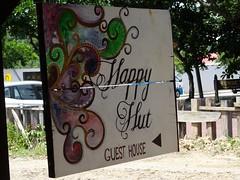 L'hôtel Happy Hut